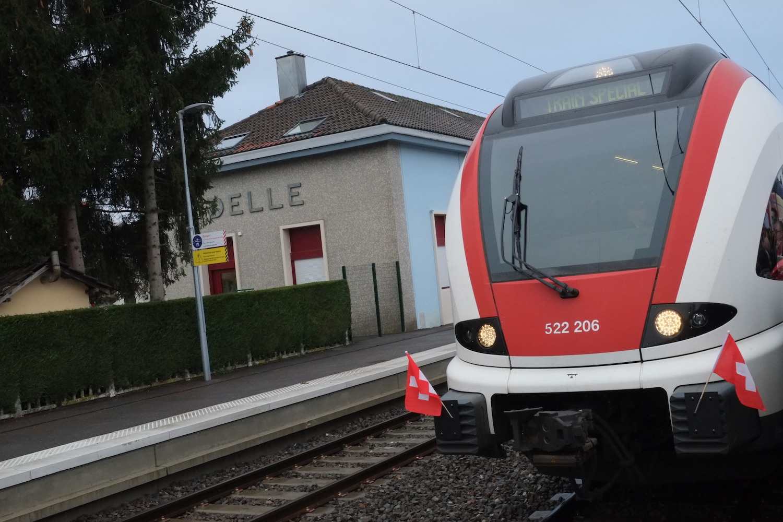 Ligne Belfort-Delle –inauguration (TQ)