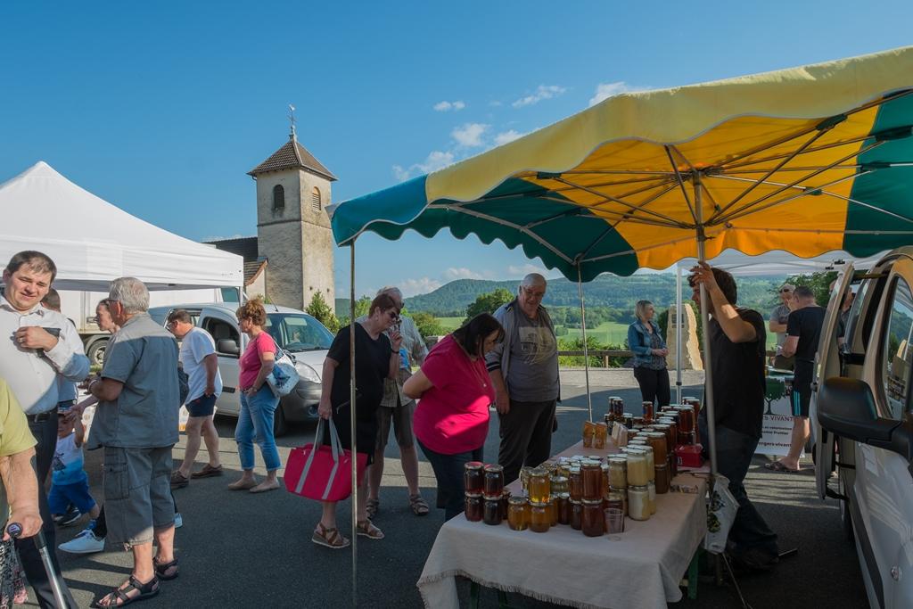Les marchés du soir de Pays de Montbéliard Agglomération reprennent ce vendredi 17 juillet à Courcelles-lès-Montbéliard.