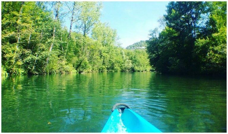 Du canoë sur la Loue, bon plan À La Conquête de l'Est.