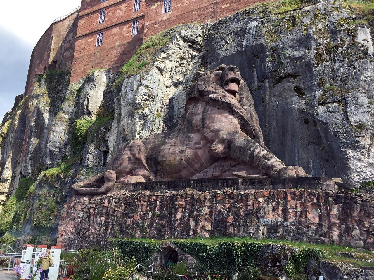 Lion de Belfort (Guillaume Bonzoms de Pixabay)