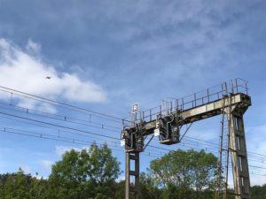 SNCF Réseau Bourgogne-Franche-Comté surveille le réseau avec des drones