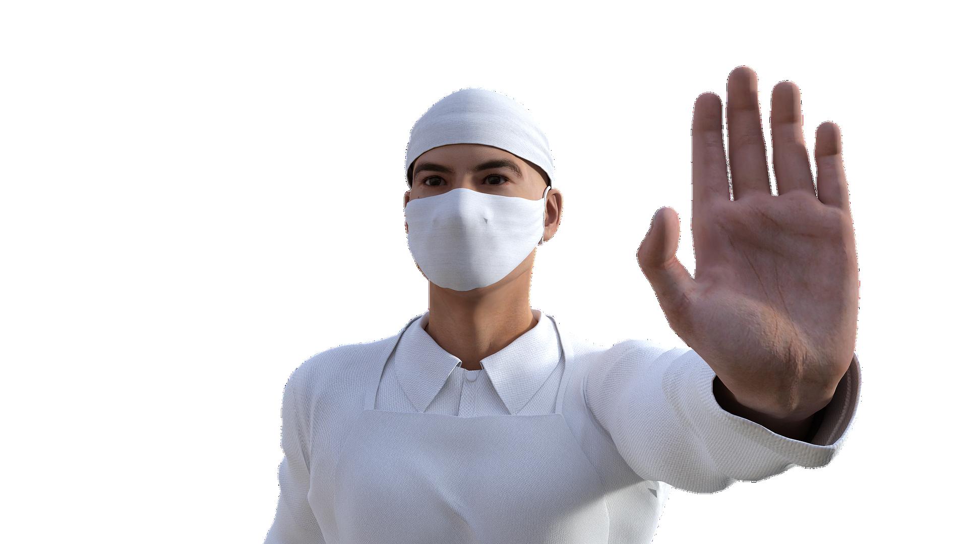 L'ARS appelle à respecter les gestes barrière. Image par Sergei Tokmakov, Esq. de Pixabay