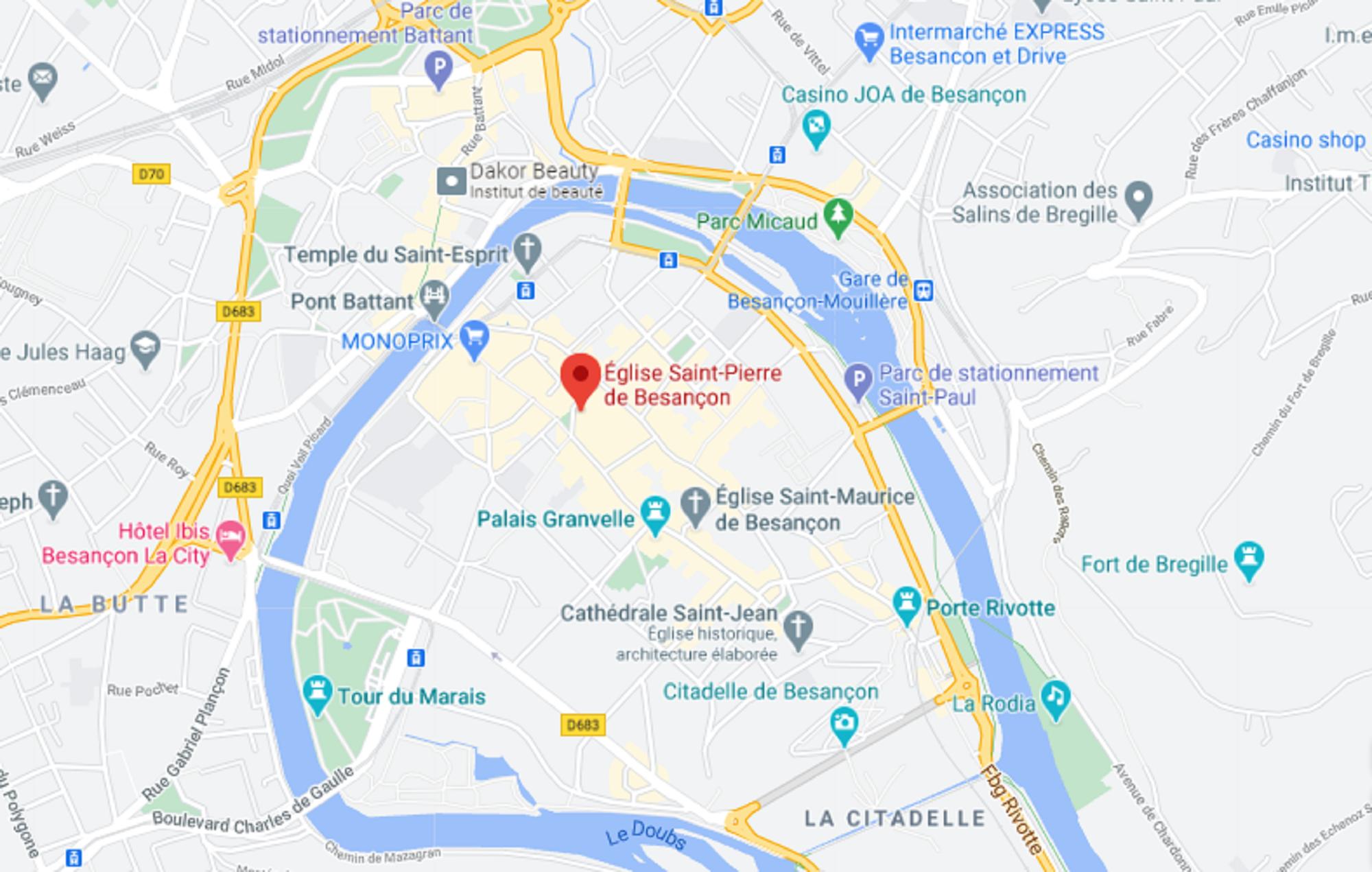 Besançon église Saint-Pierre