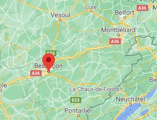 Besançon Maps