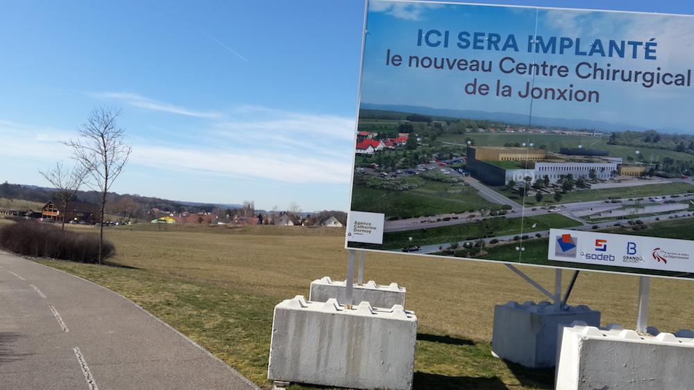 Le début du chantier du centre de chirurgie de la JonXion envisagé fin 2021