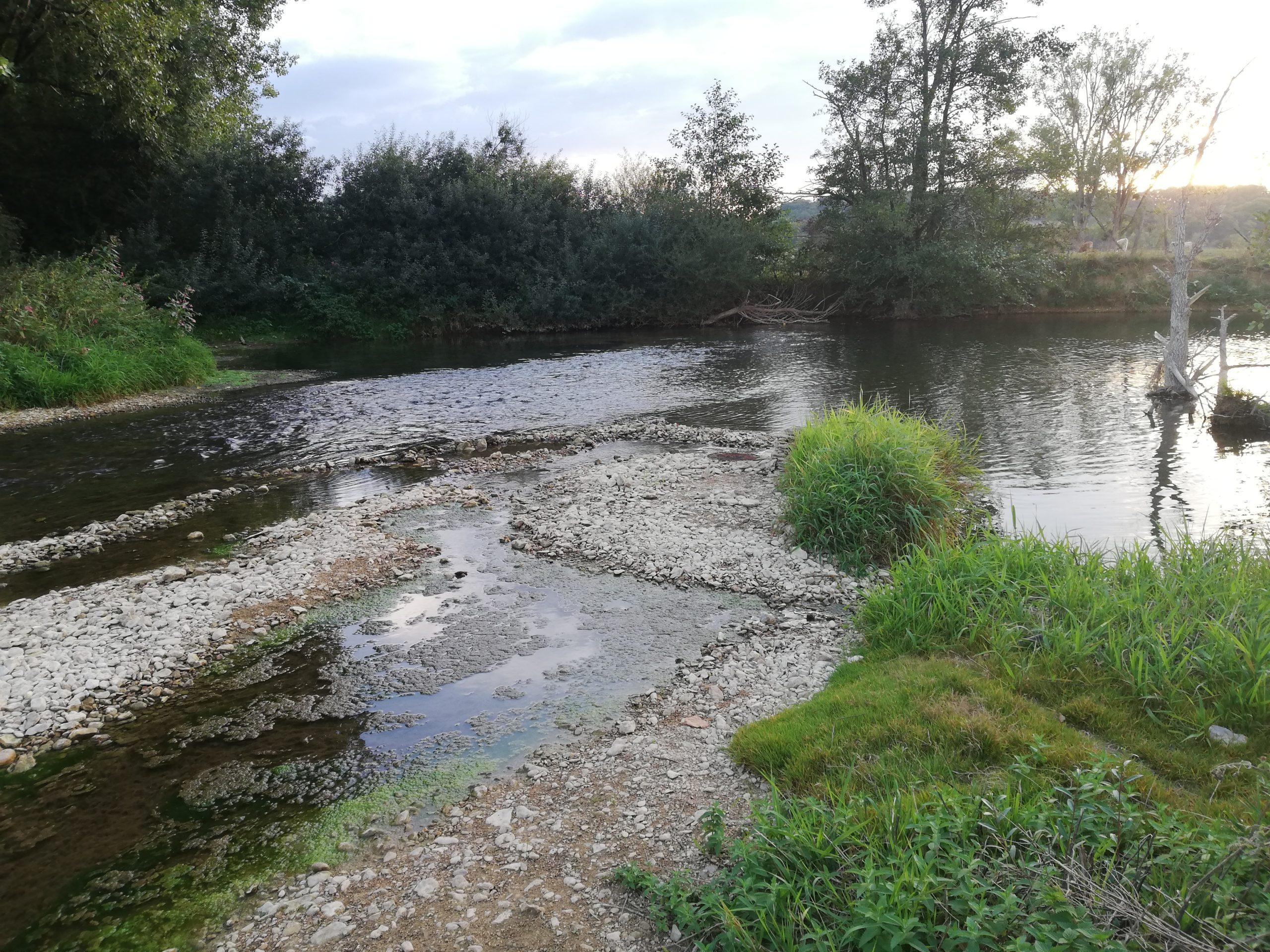 Sécheresse rivière eau