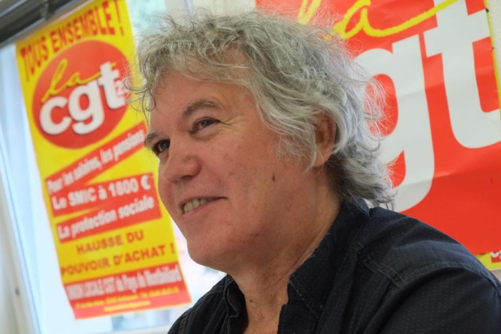 Bruno Lemerle, de la section retraité de la CGT PSA.