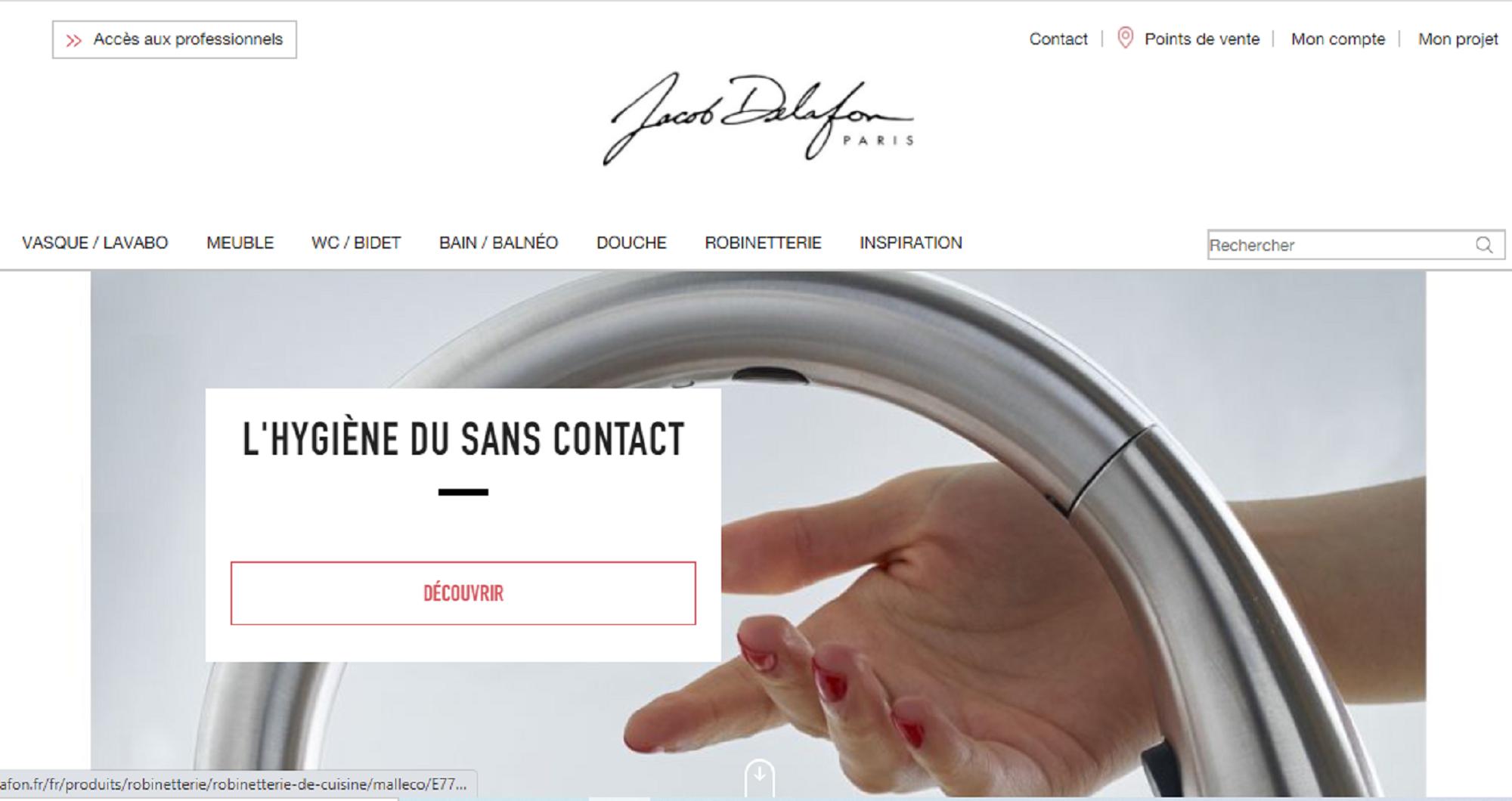 Jura: 151 emplois menacés chez Jacob Delafon