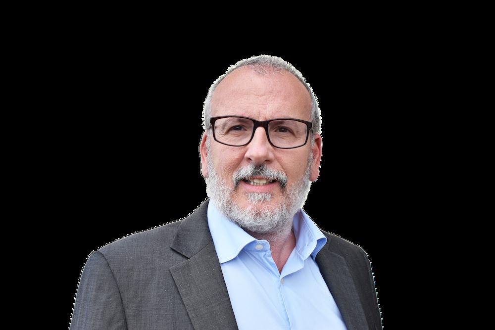 Bernard Bensaid, président fondateur de Doctegestio et nouveau président de l'association Servir, à Valdoie.
