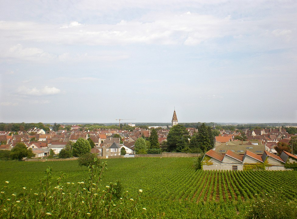 Nuits-Saint-Georges, en Côte-d'Or (CC BY-SA 4.0 – Greg du 21)