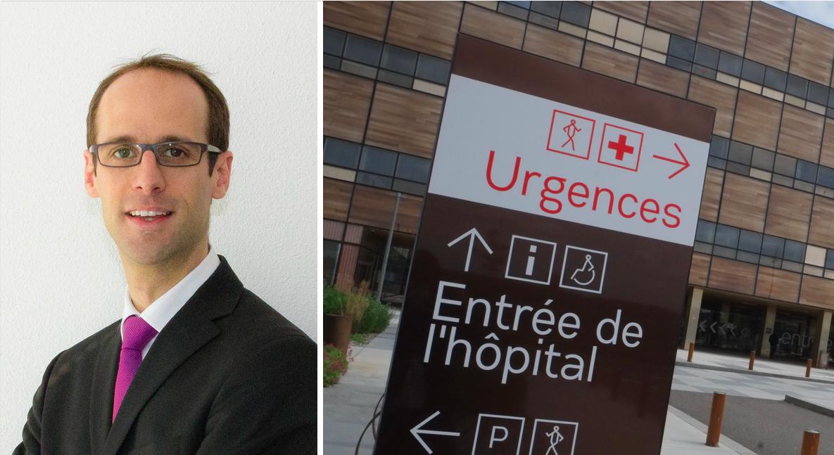 Pierre Pribile, directeur général de l'agence régionale de santé de Bourgogne-Franche-Comté.