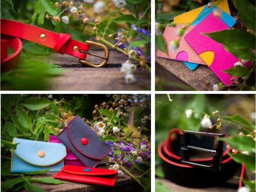 L'Esat du Territoire de Belfort lance la marque ChickyPop d'accessoires cuir.