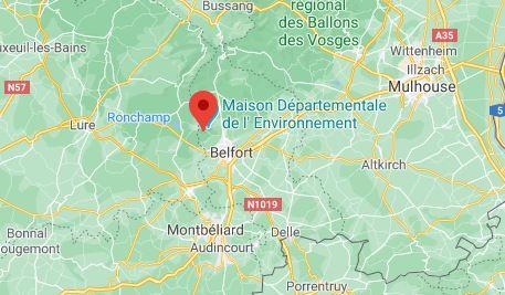 Evette-Salbert sur Google Maps