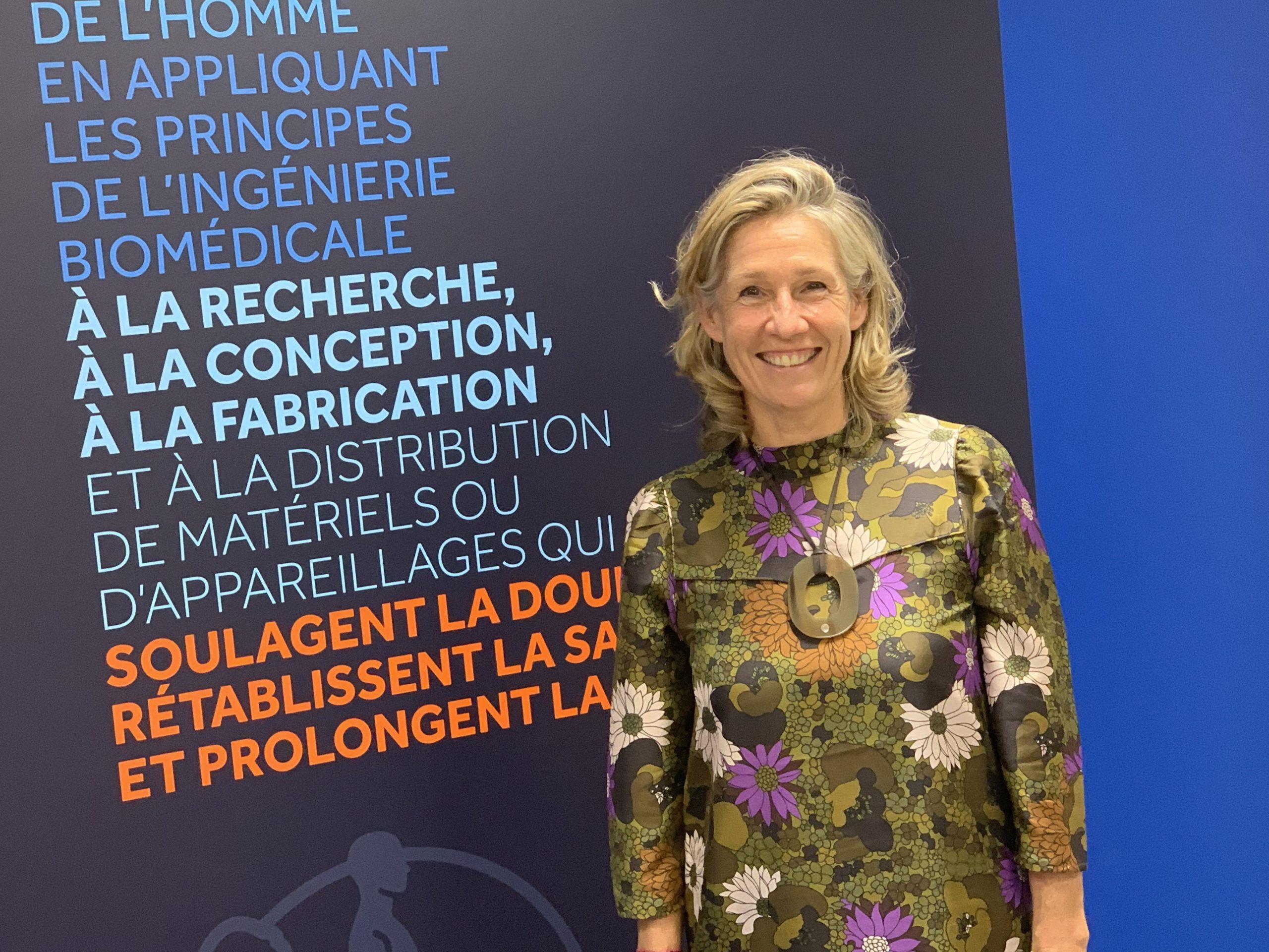 Laure Viellard, directrice de l'école supérieure des technologies et des affaires (Esta).