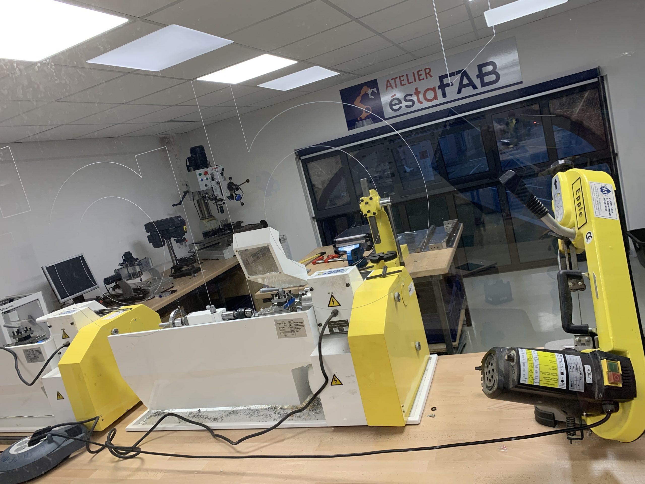 Esta fab, atelier de l'école supérieure des technologies et des affaires (Esta)