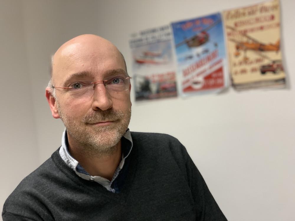David Gallezot, fondateur d'Avions Mauboussin et créateur de l'Alerio (©Le Trois–Thibault Quartier).