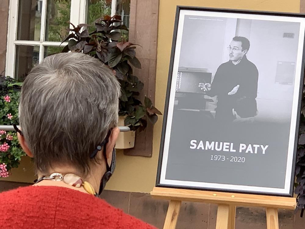 Samuel Paty a été assassiné le vendredi 16 octobre à Conflans-Sainte-Honorine, dans les Yvelines.