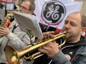 Philippe Petitcolin à la trompette pour cette manifestation.