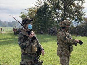 Les JTAC assurent aussi la coordination avec les hélicoptères en cas d'évacuation du personnel.
