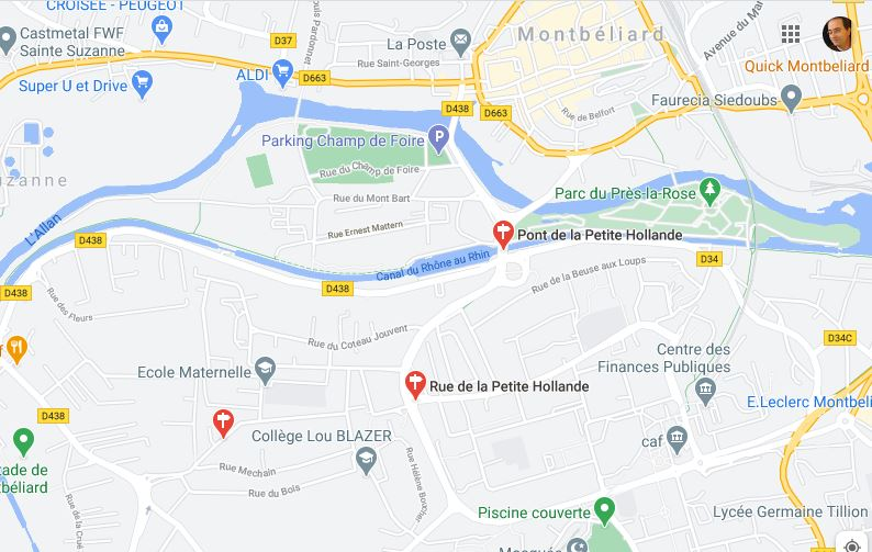 Un homme de 22 ans suspecté d'avoir participé à l'agression de policiers lors d'une perquisition à Montbéliard a été placé jeudi en détention provisoire.