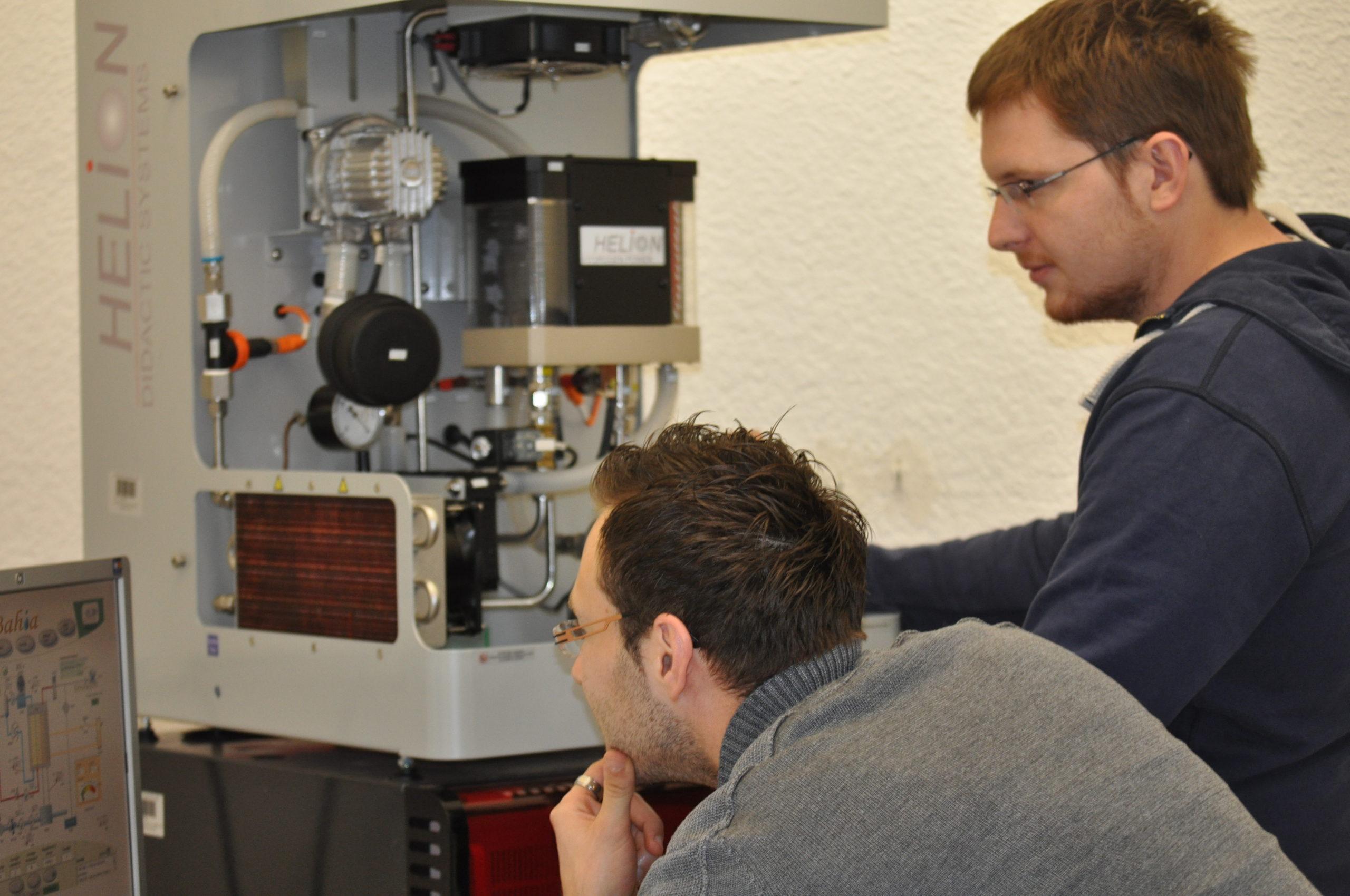 Rougeot énergie s'investit dans la formation hydrogène de l'université de Franche-Comté.