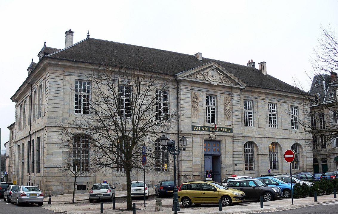 Palais de justice de Vesoul en Haute-Saône.