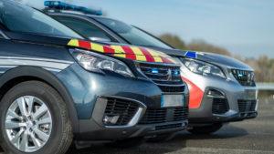 Le Peugeot 5008 a été référencé par le ministère de l'Intérieur comme
