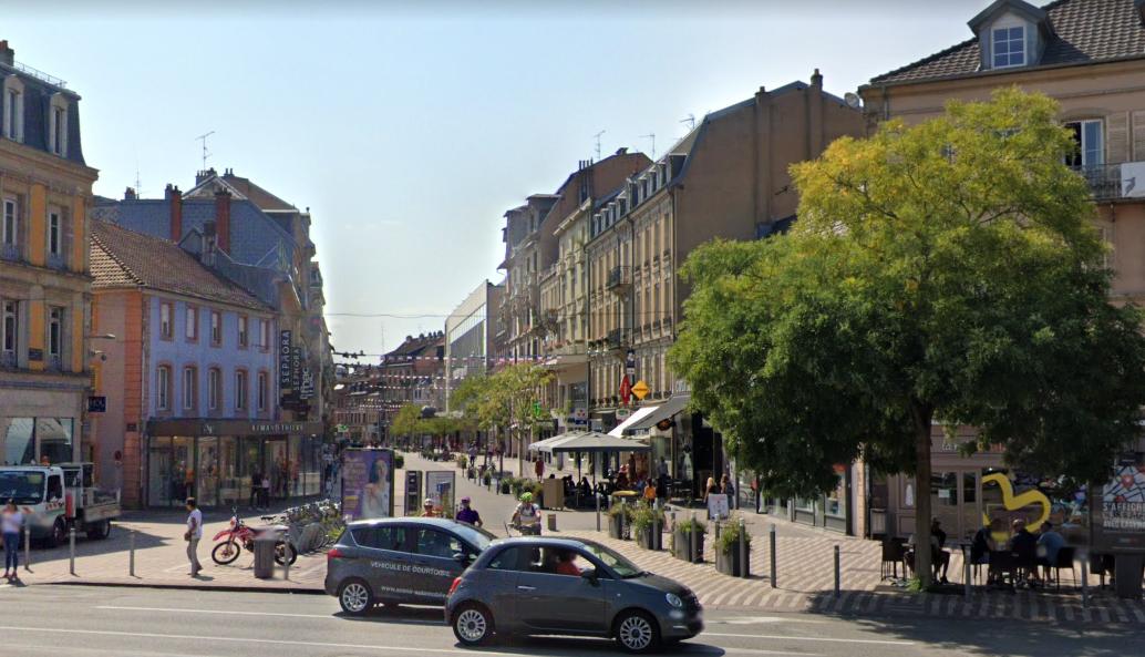 Belfort faubourg de France (google street view)