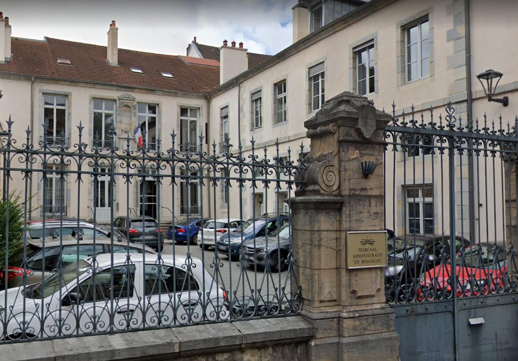 Le tribunal administratif de Besançon.