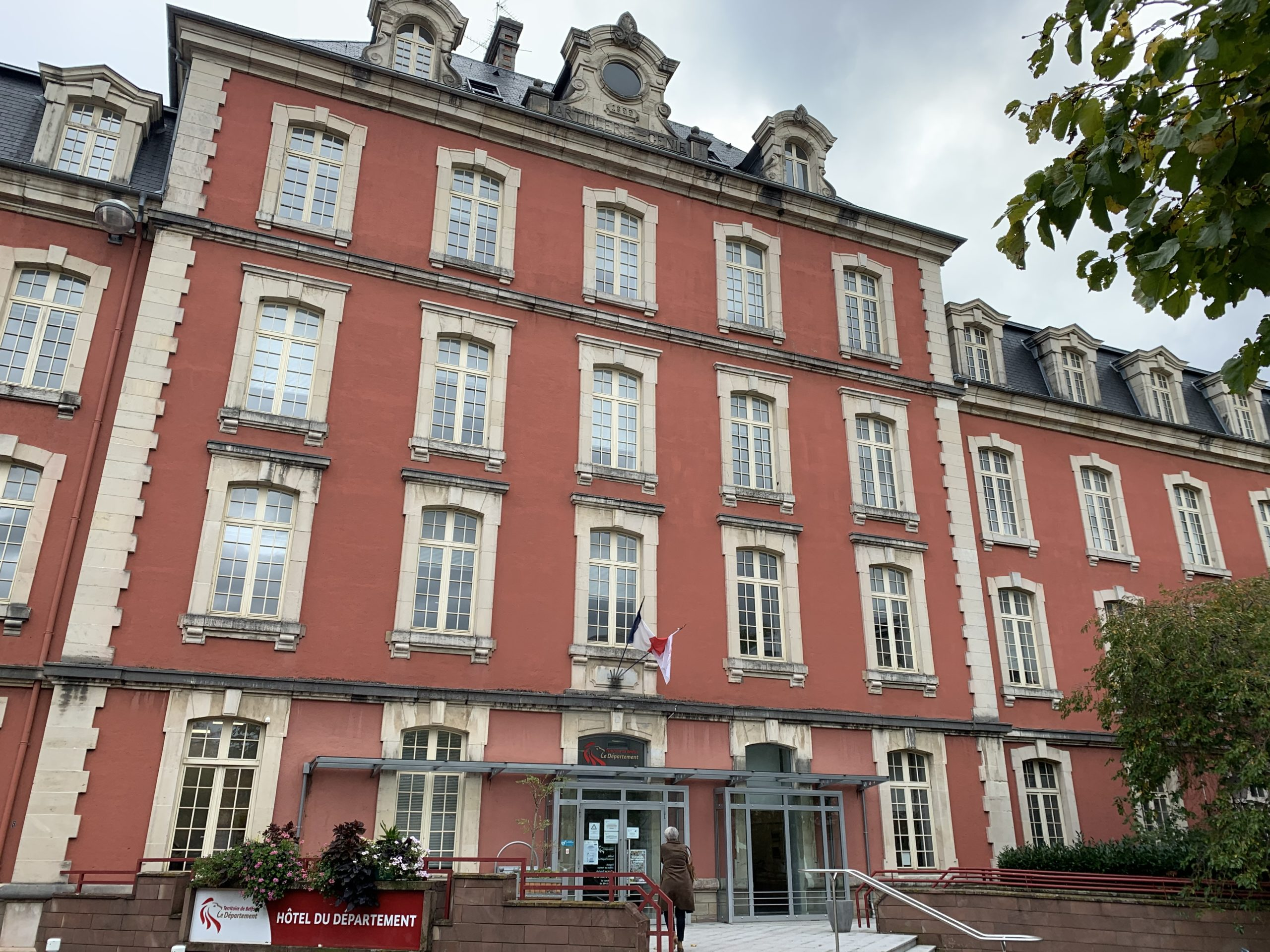 Les services du conseil départemental du Territoire de Belfort s'adaptent au confinement.