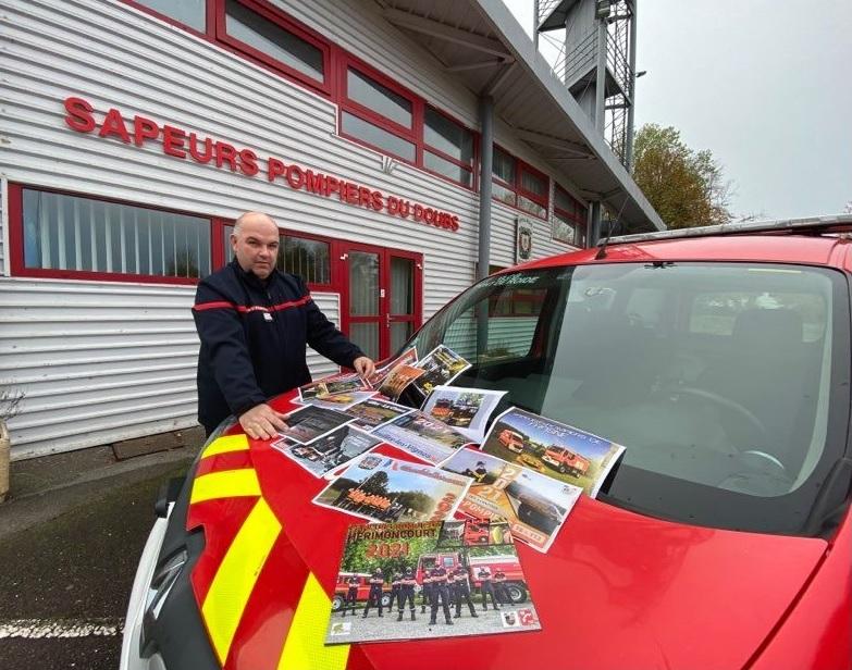 Pas de tournée des calendriers pour les pompiers du Doubs, ni du Territoire de Belfort, en raison du confinement, en cette fin d'année.