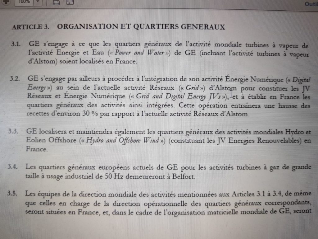 Accords GE Alstom 2014