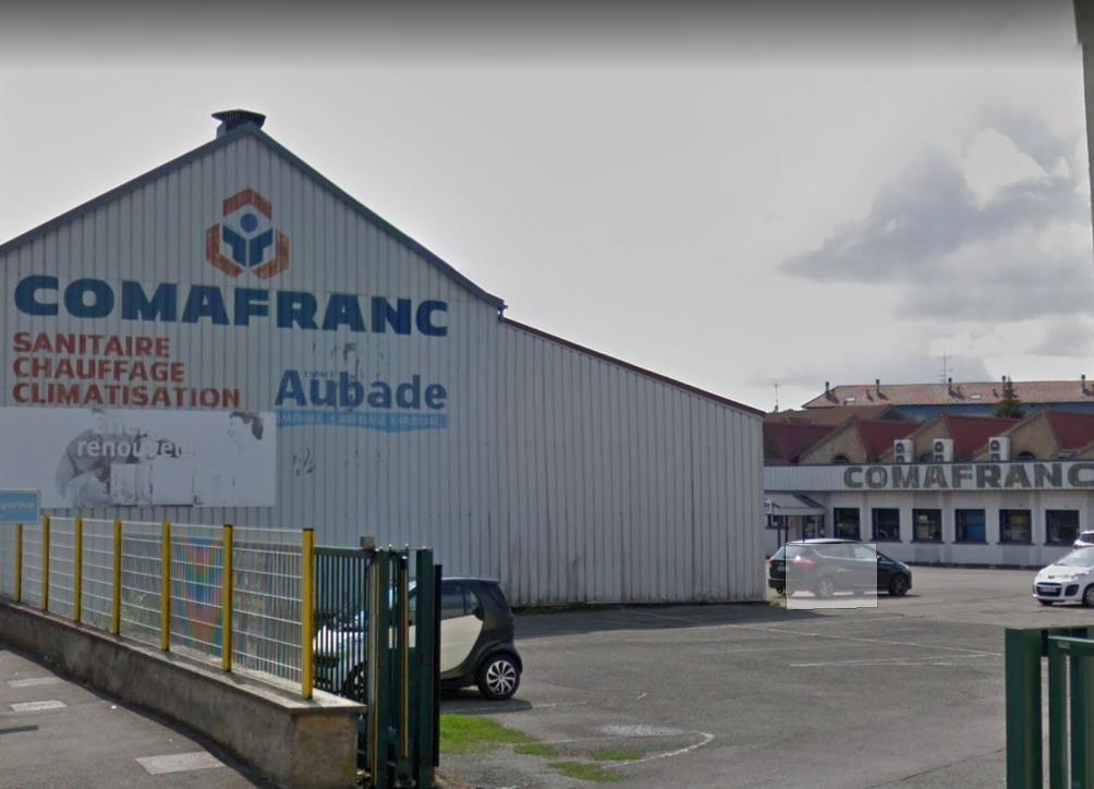 Comafranc installe un entrepôt à l'Aéroparc de Fontaine.