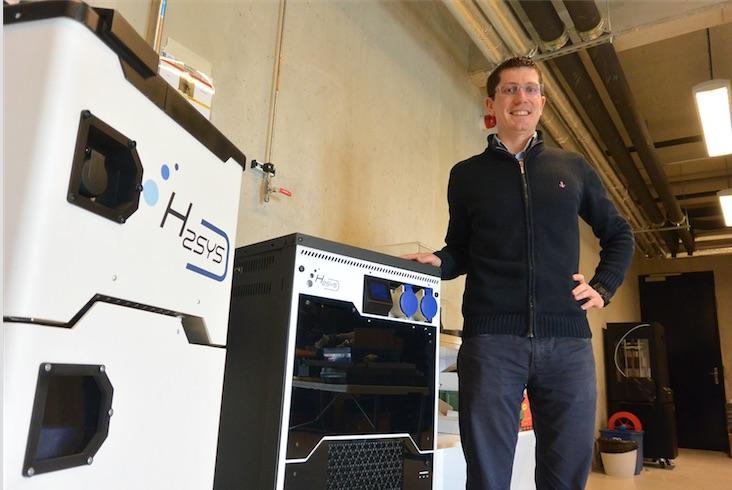 L'entreprise H2Sys (ici son dirigeant, Sébastien Faivre) est l'une des lauréates du fonds d'accélération Territoire d'industrie.