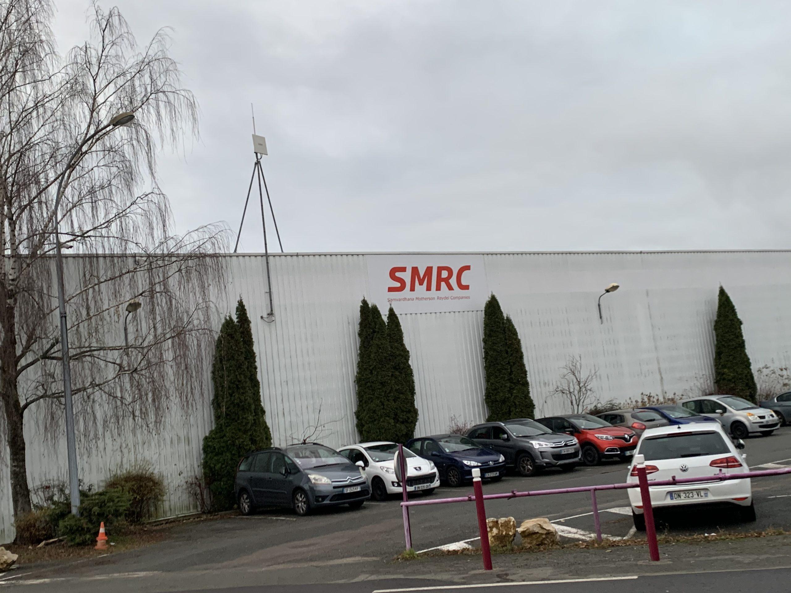 Unité n°1 de SMRC, à Rougegoutte, dans le Territoire de Belfort, un équipementier de PSA.