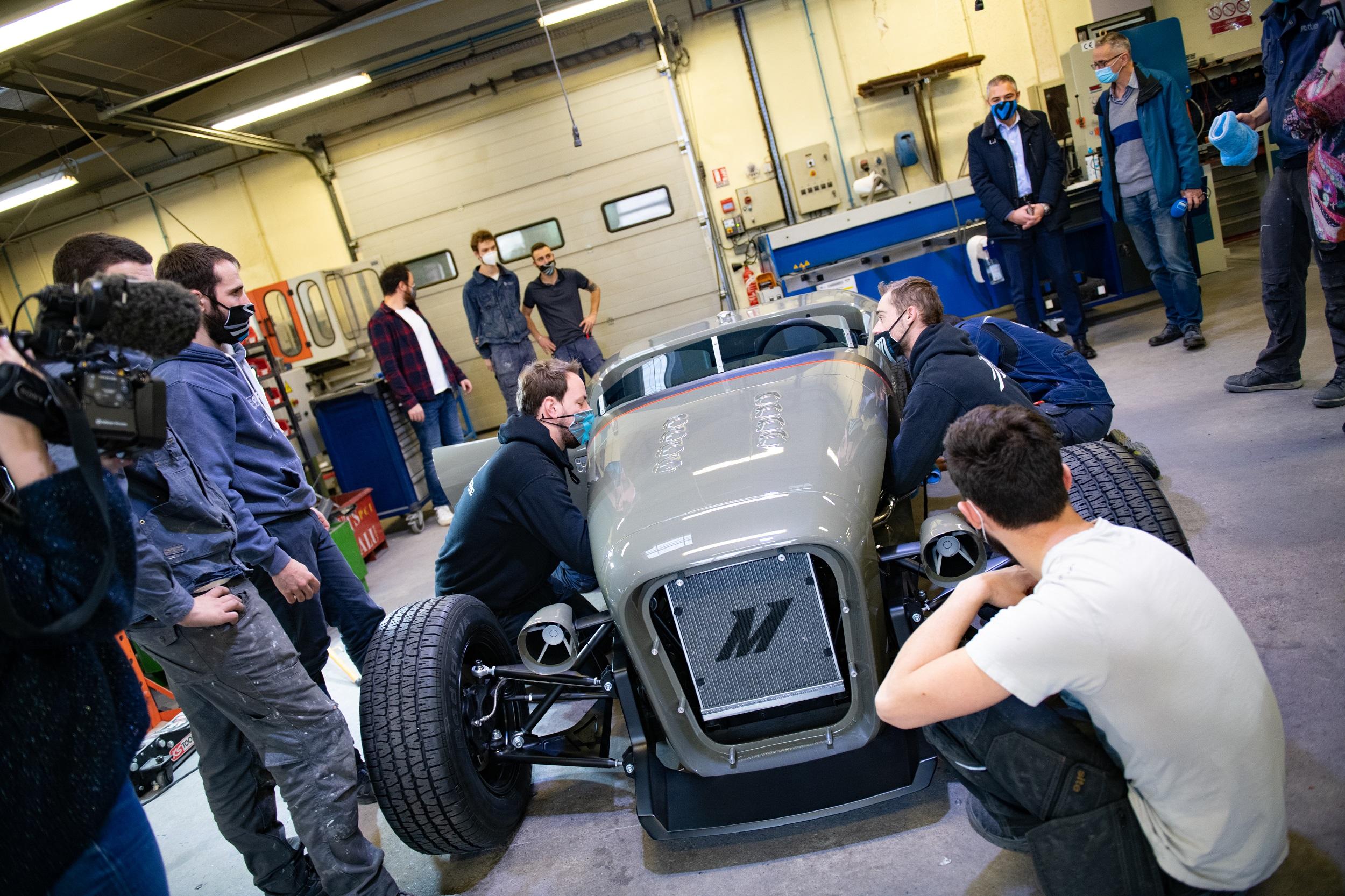 Le nouveau prototype est baptisé Hot Rod. Un parfum des Etats-Unis. Photo UTMB - François Jouffroy