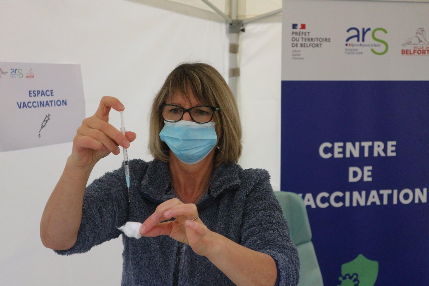 Covid-19 : des centres de vaccination à Audincourt, Giromagny et Grandvillars