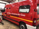 Covid-19 : les pompiers du Doubs déploient une unité mobile de vaccination