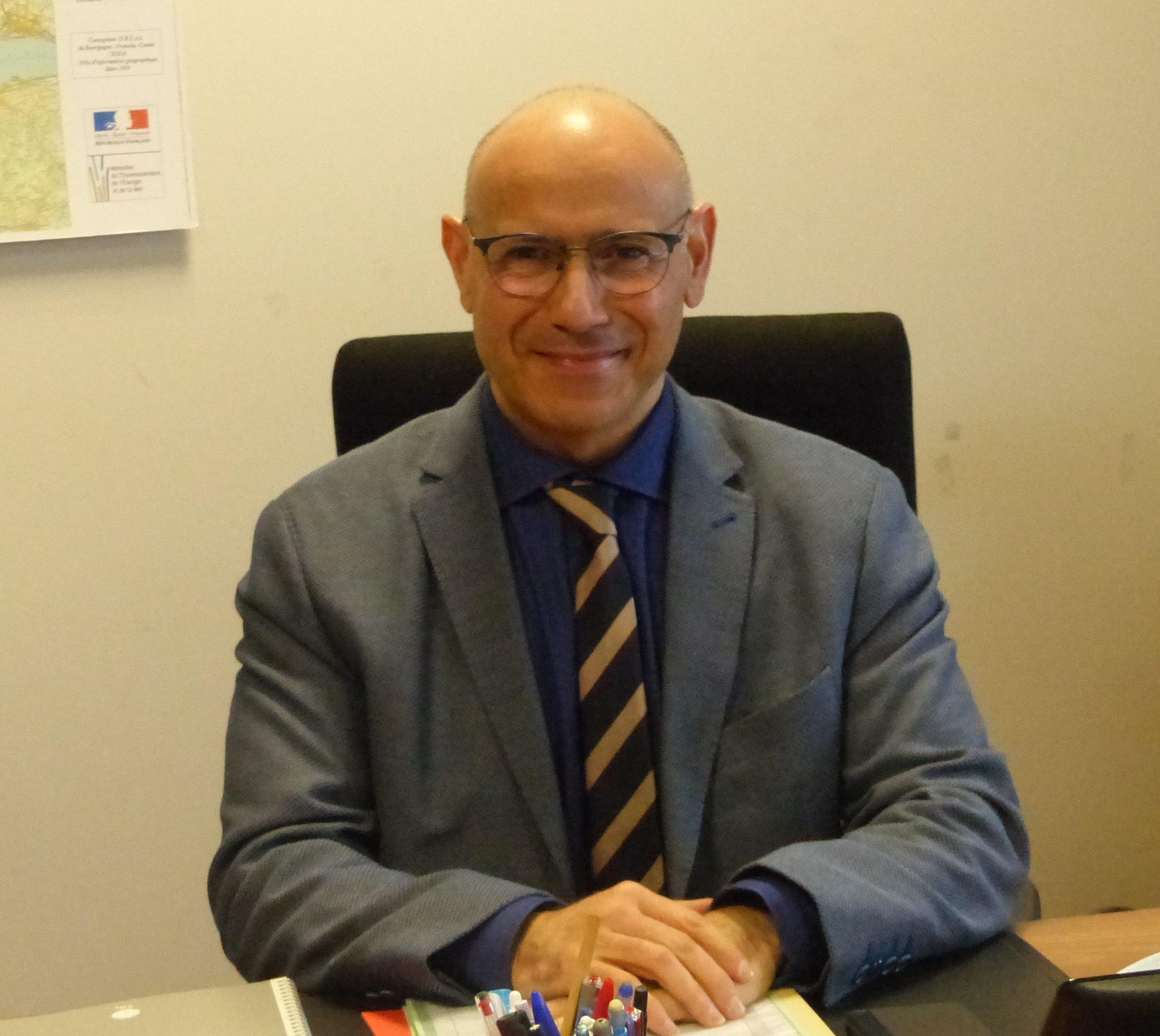 Le docteur Mohamed Si Abdallah, nommé directeur général adjoint de l'agence régionale de santé Bourgogne-Franche-Comté.