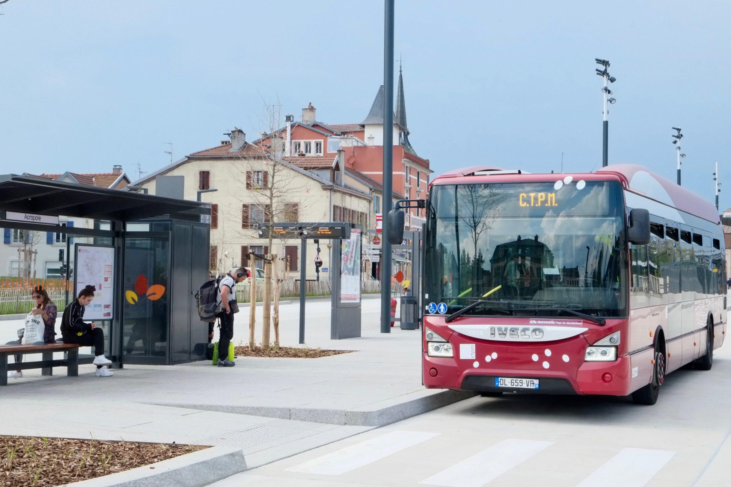 Le réseau de transports en commun évolitY, dans le pays de Montbéliard, modernise la ligne 3, en niveau THNS.