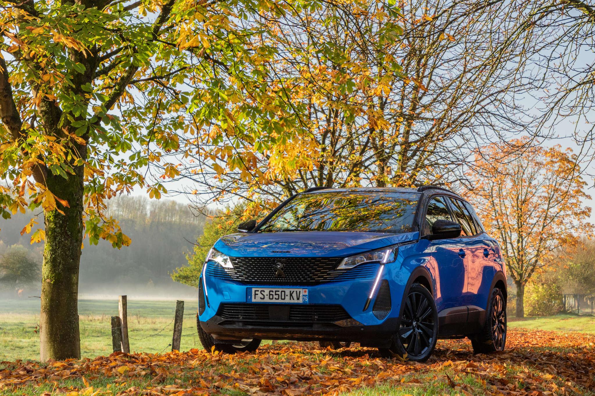 Peugeot connaît une hausse de ses ventes en décembre, contrairement aux autres marques du groupe PSA (ici une Peugeot 3008).