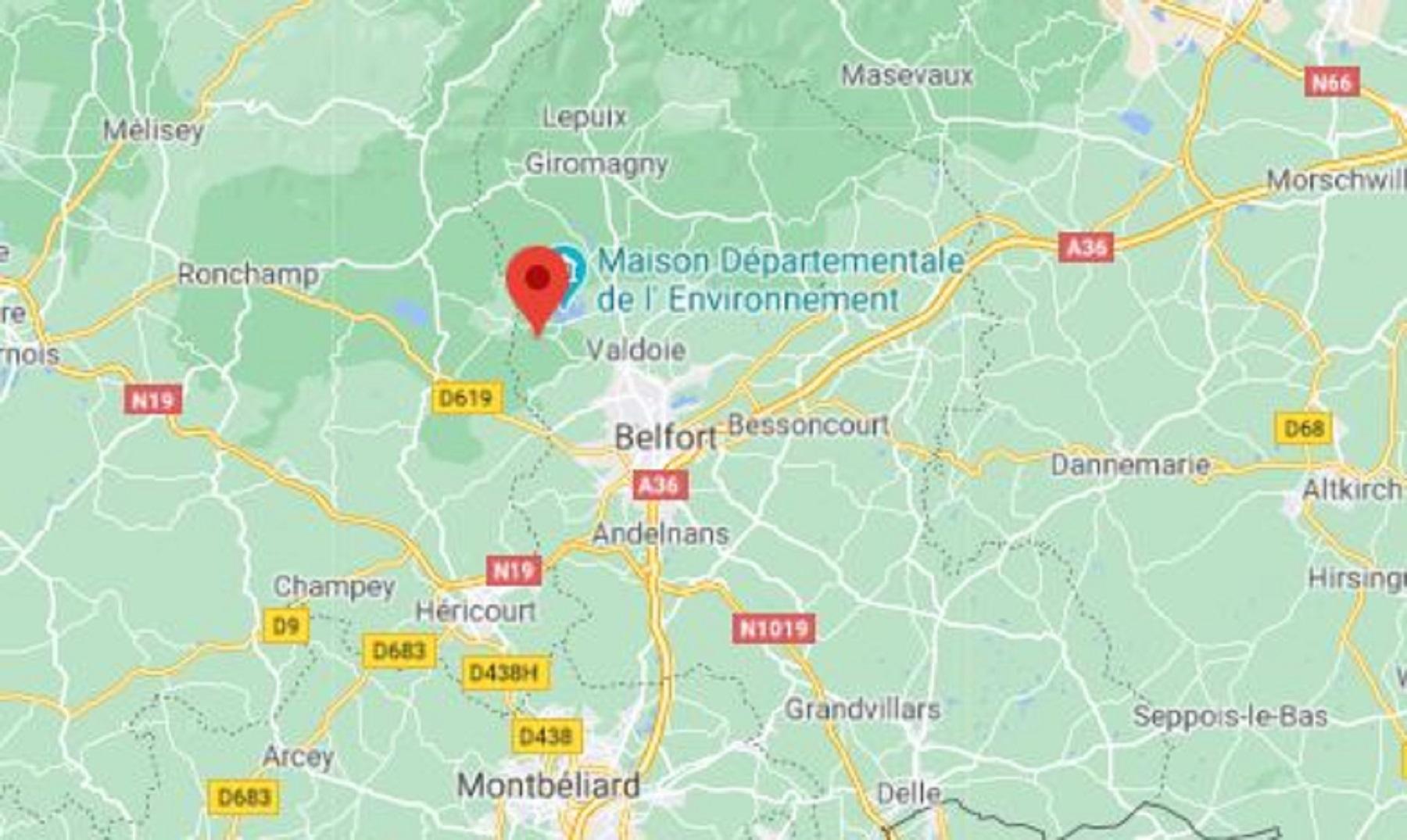Evette-Salbert sur Google Maps.
