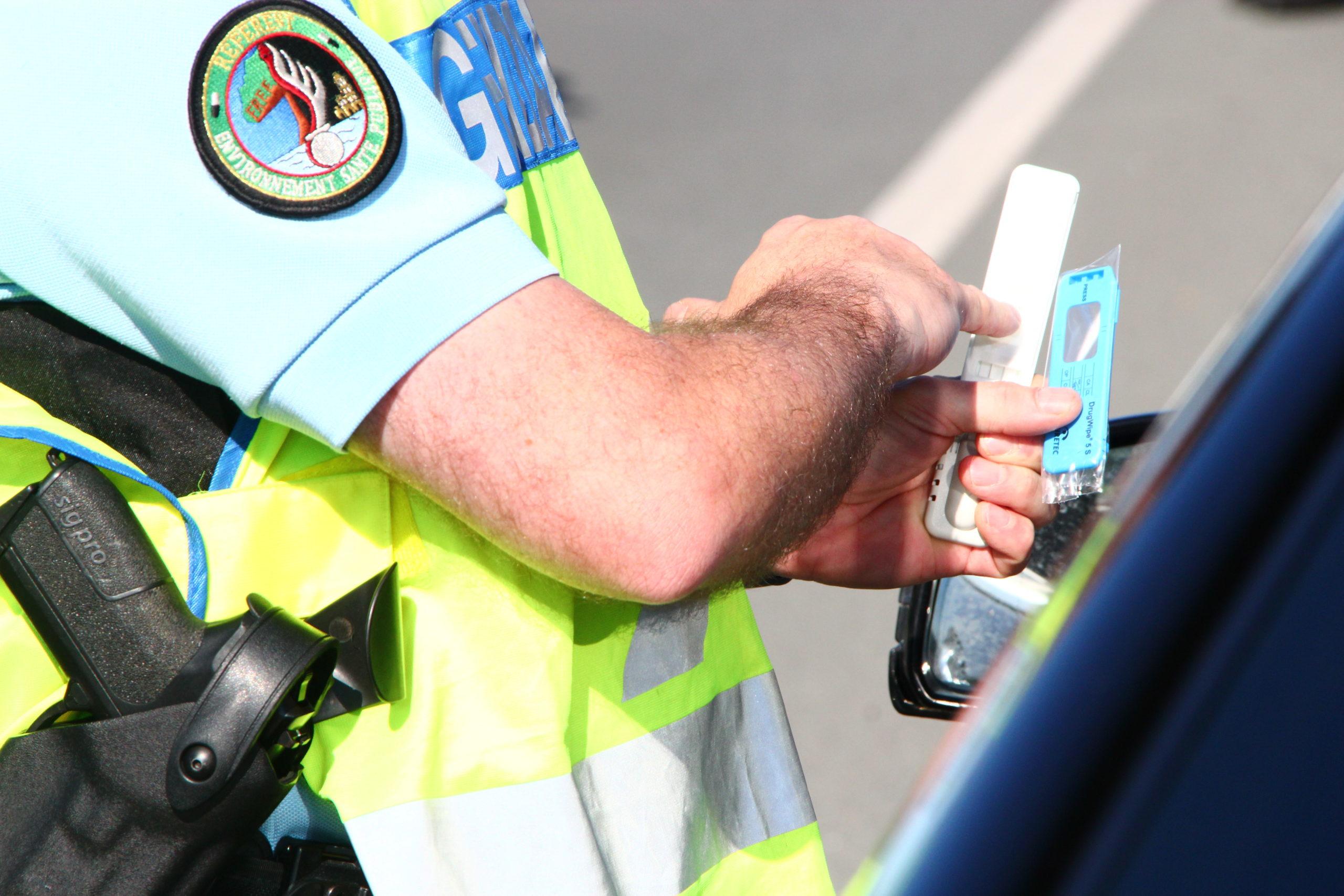Gendarmerie dépistage stupéfiant 2