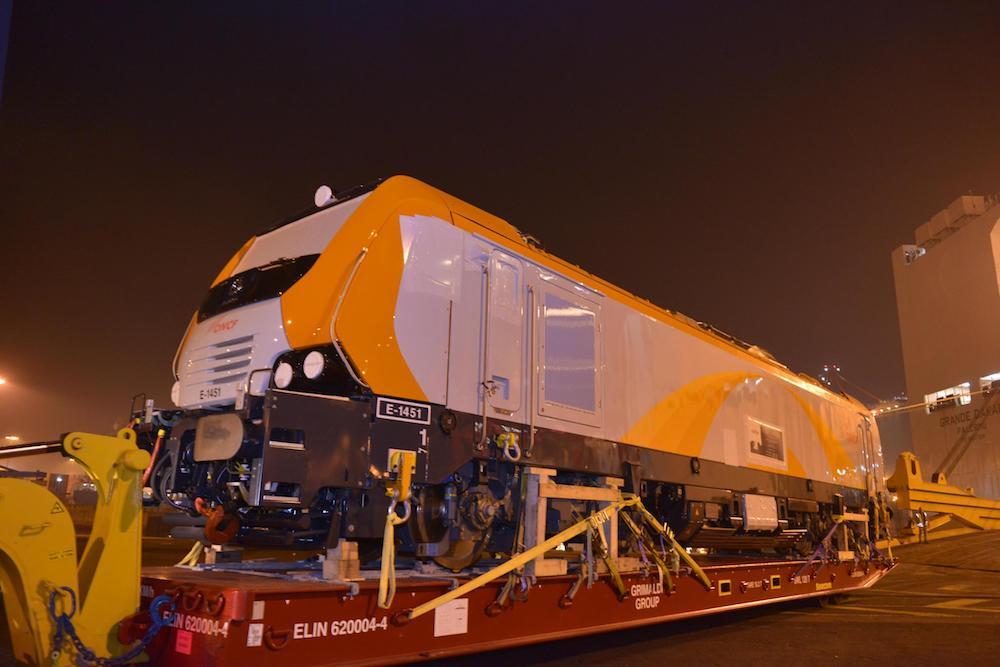 Locomotive Alstom Prima M4 (Alstom / Omar Amaghri)