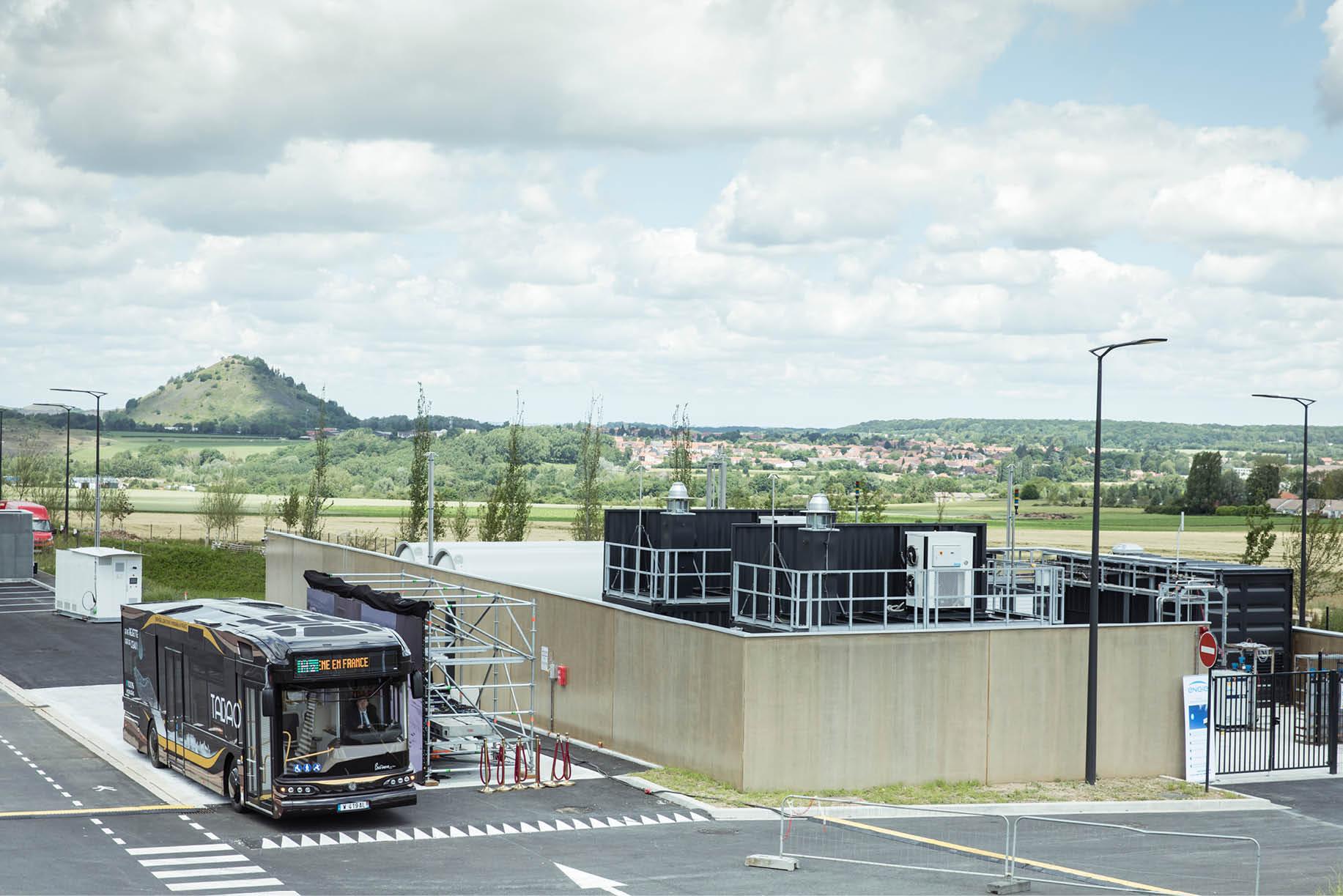 La station hydrogène de Danjoutin, construite par Hynamics, filiale d'EDF, vient de recevoir une subvention de la Commission européenne.
