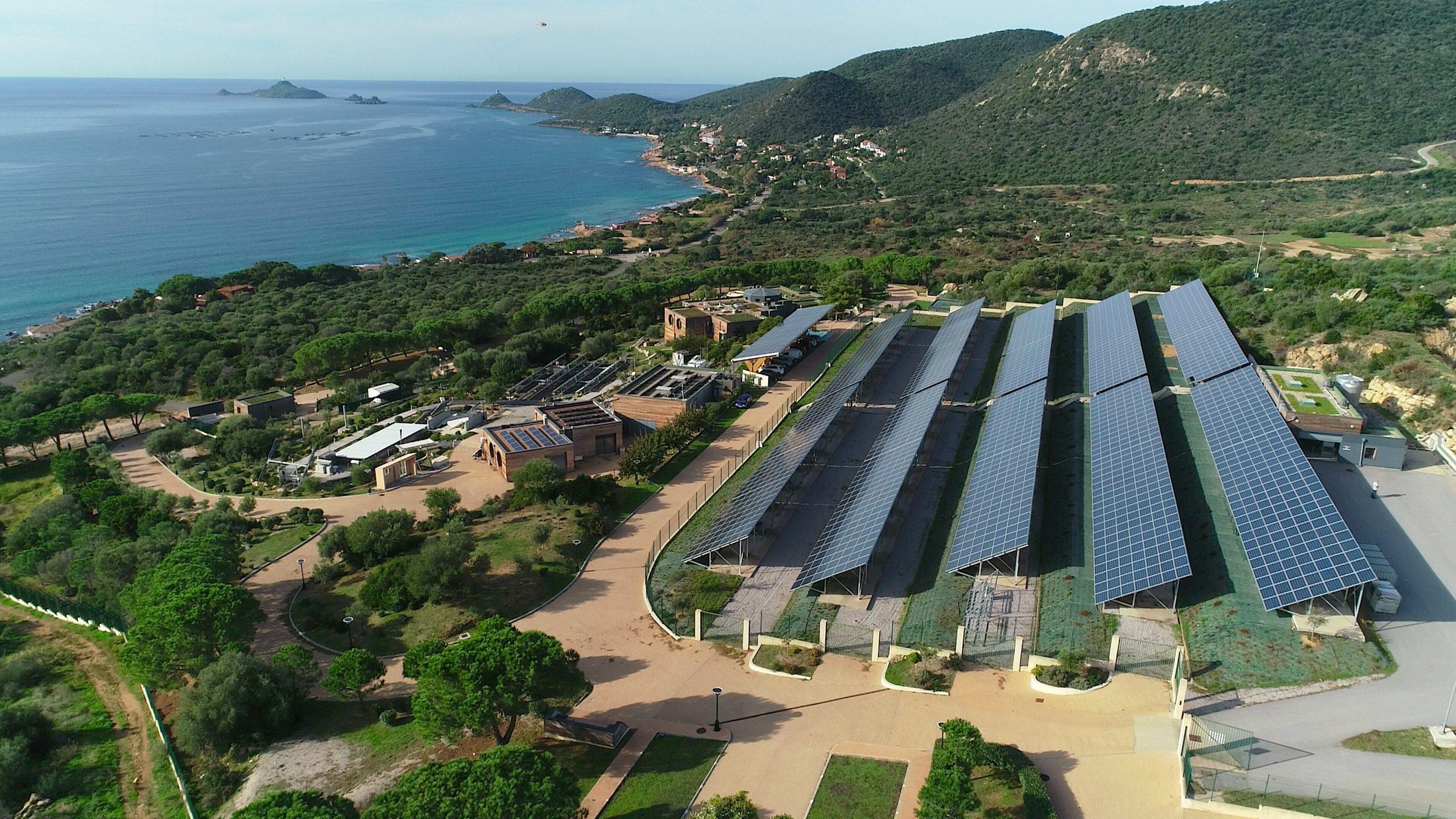 Plateforme de recherche en énergie de MYRTE (université de Corse)