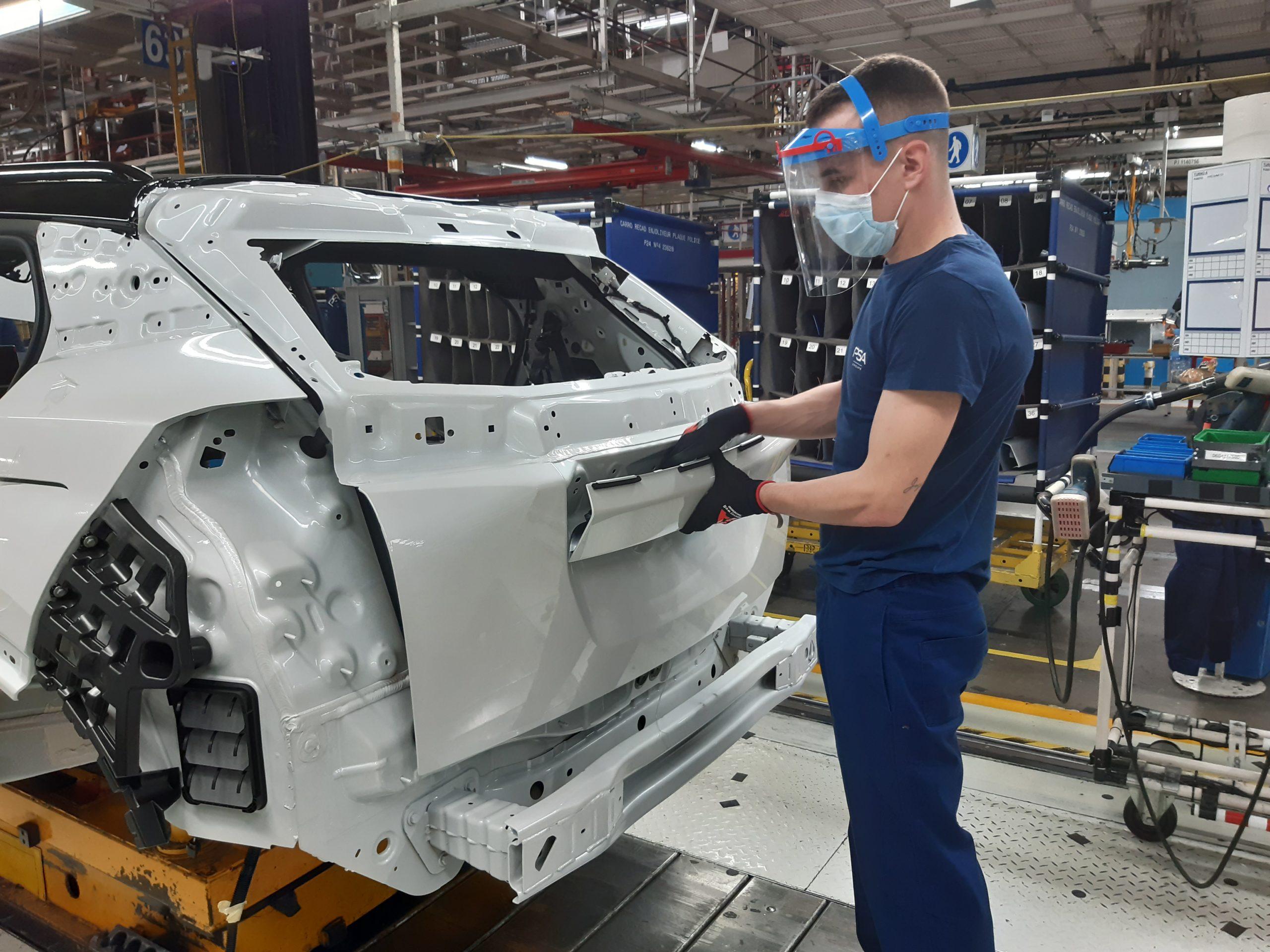 L'usine de Sochaux totalement à l'arrêt ce mardi 16 mars, à Stellantis
