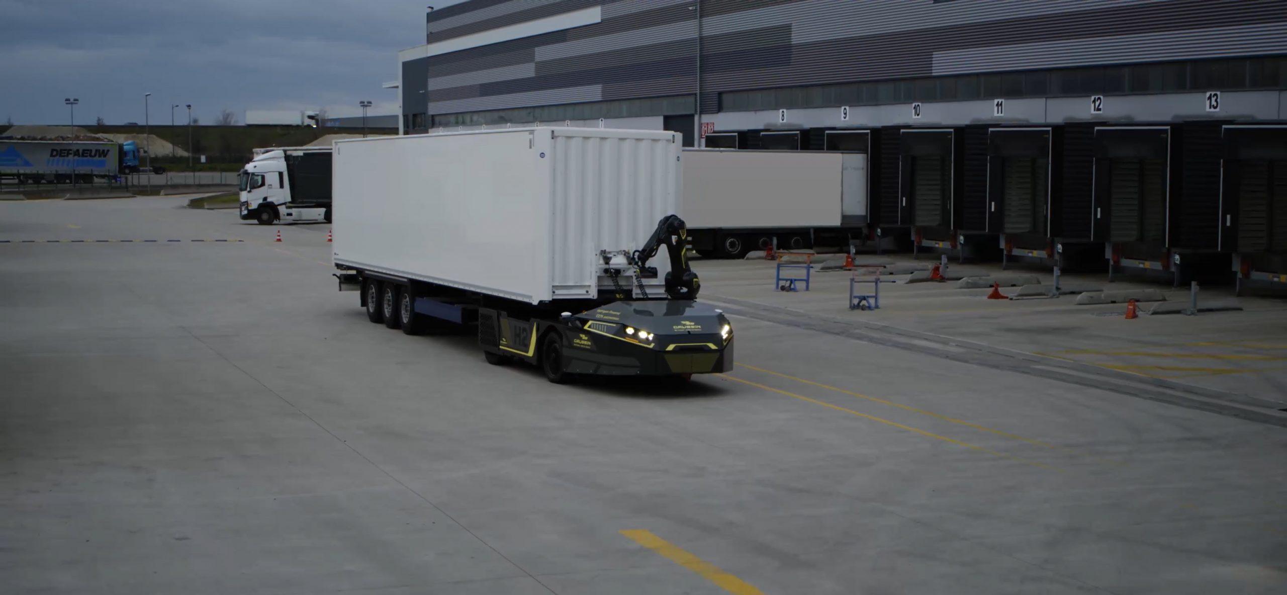 L'industriel Gaussin, installé à Héricourt, vient de dévoiler la silouhette d'un nouveau véhicule de manutention, 100 % hydrogène et autonome.