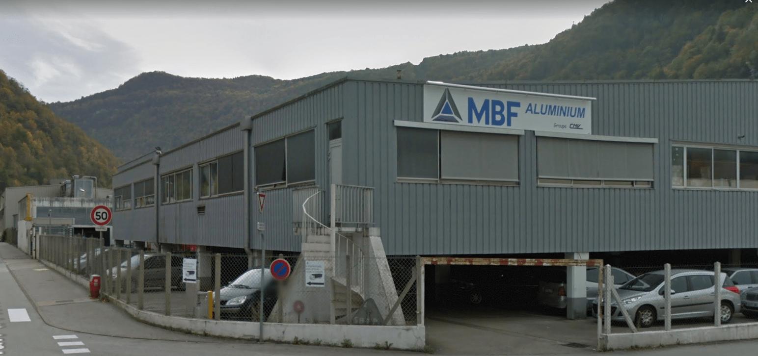 MBF Aluminium Saint-Claude) Google street view
