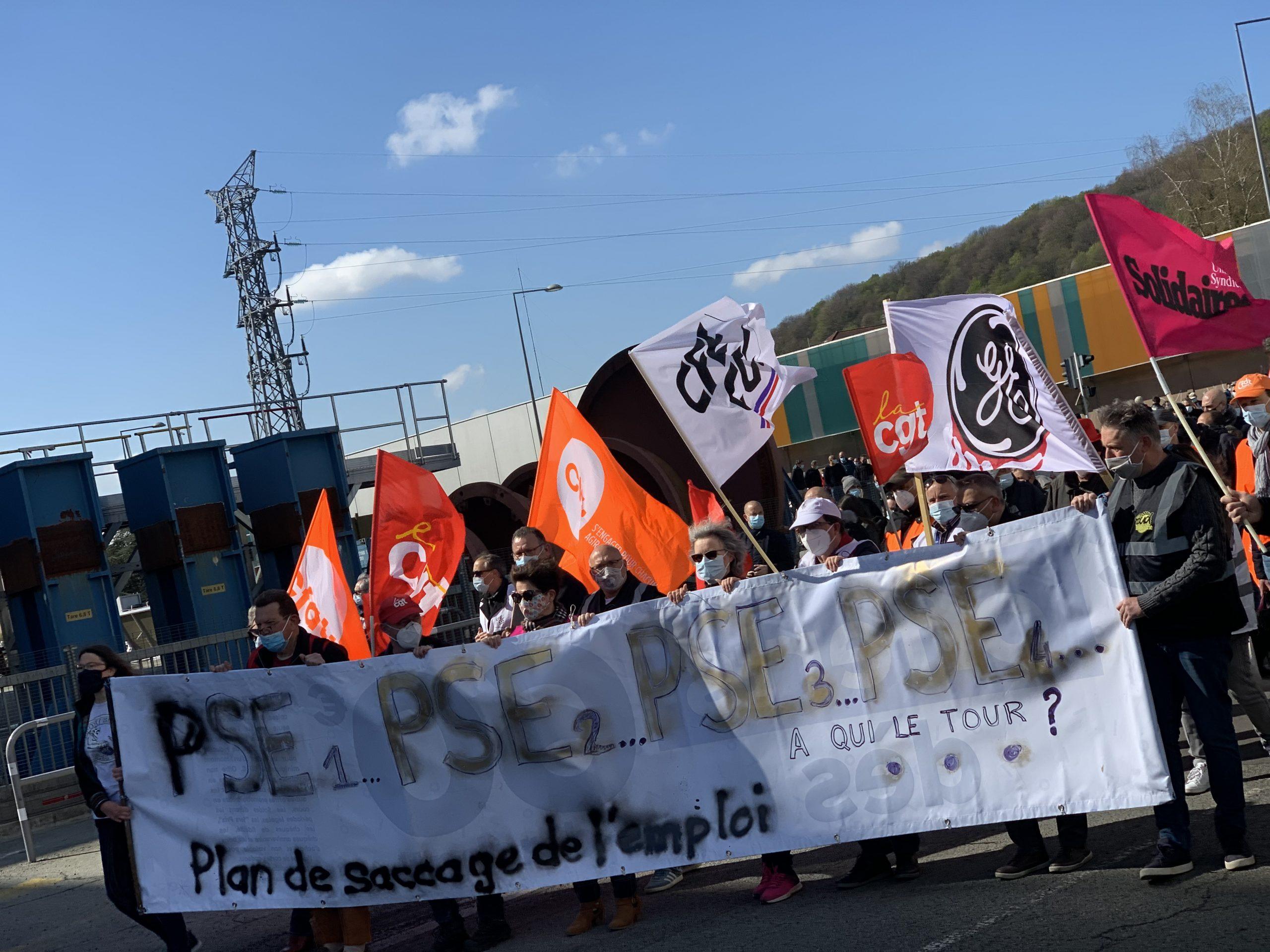 La mobilisation se poursuit contre le plan social dans la branche nucléaire et charbon de General Electric.